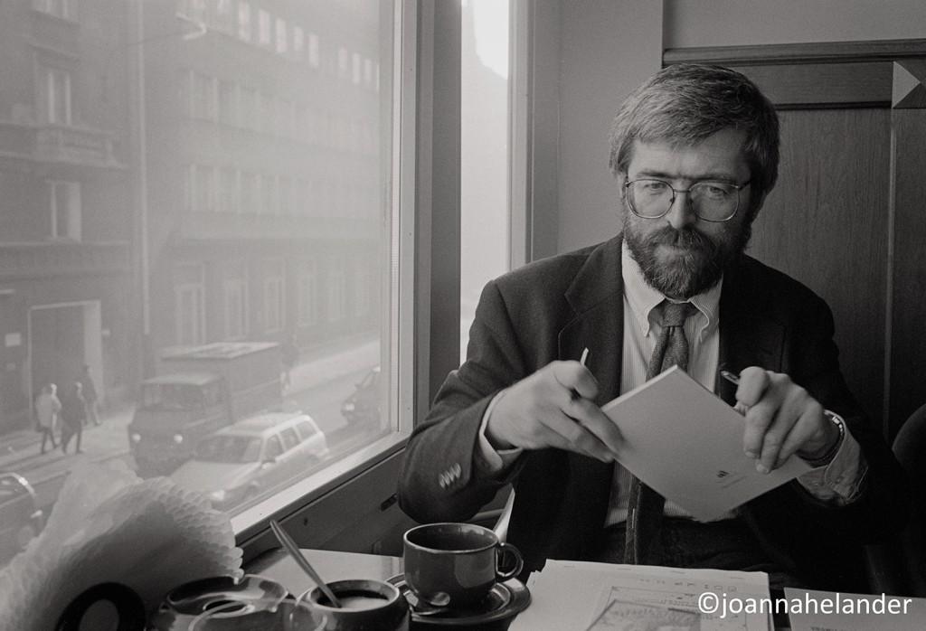 Stanislaw Baranczak. Photograph by Joanna Helander