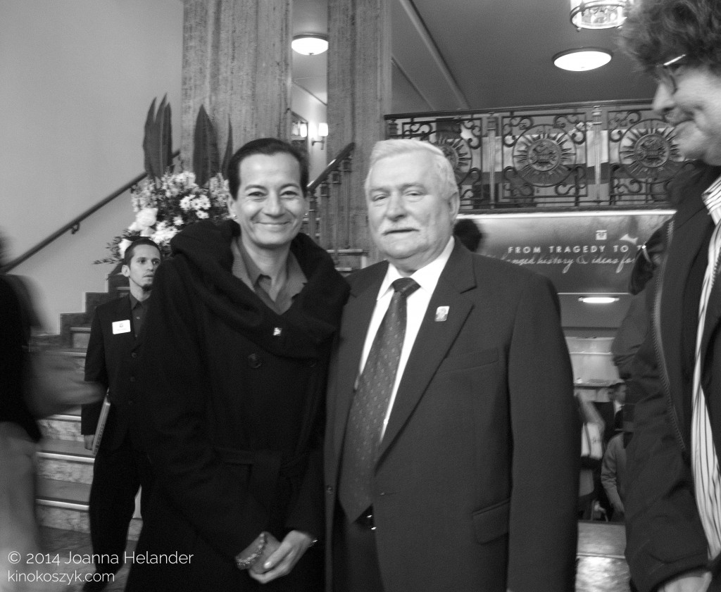 Clara Rojas and Lech Walesa