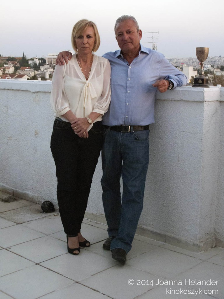 Dan Alon with his wife, Tel Aviv