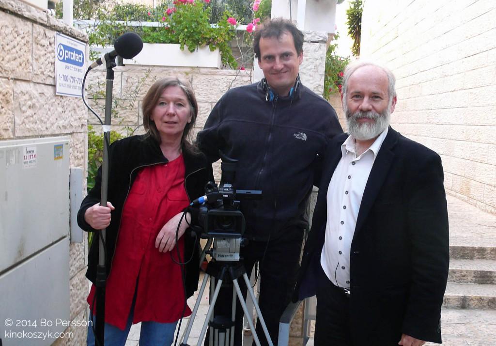 J.Helander, W.Staron, Henry Abramovvitch, Jerusalem